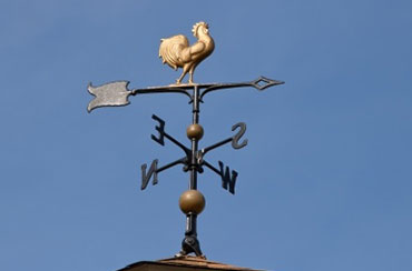 Rooster wether vane
