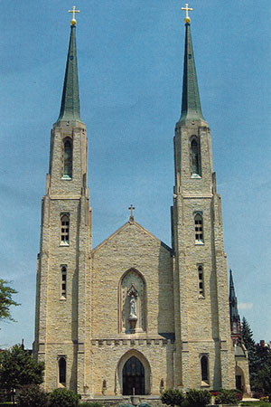 Cathedral in Fort Wayne